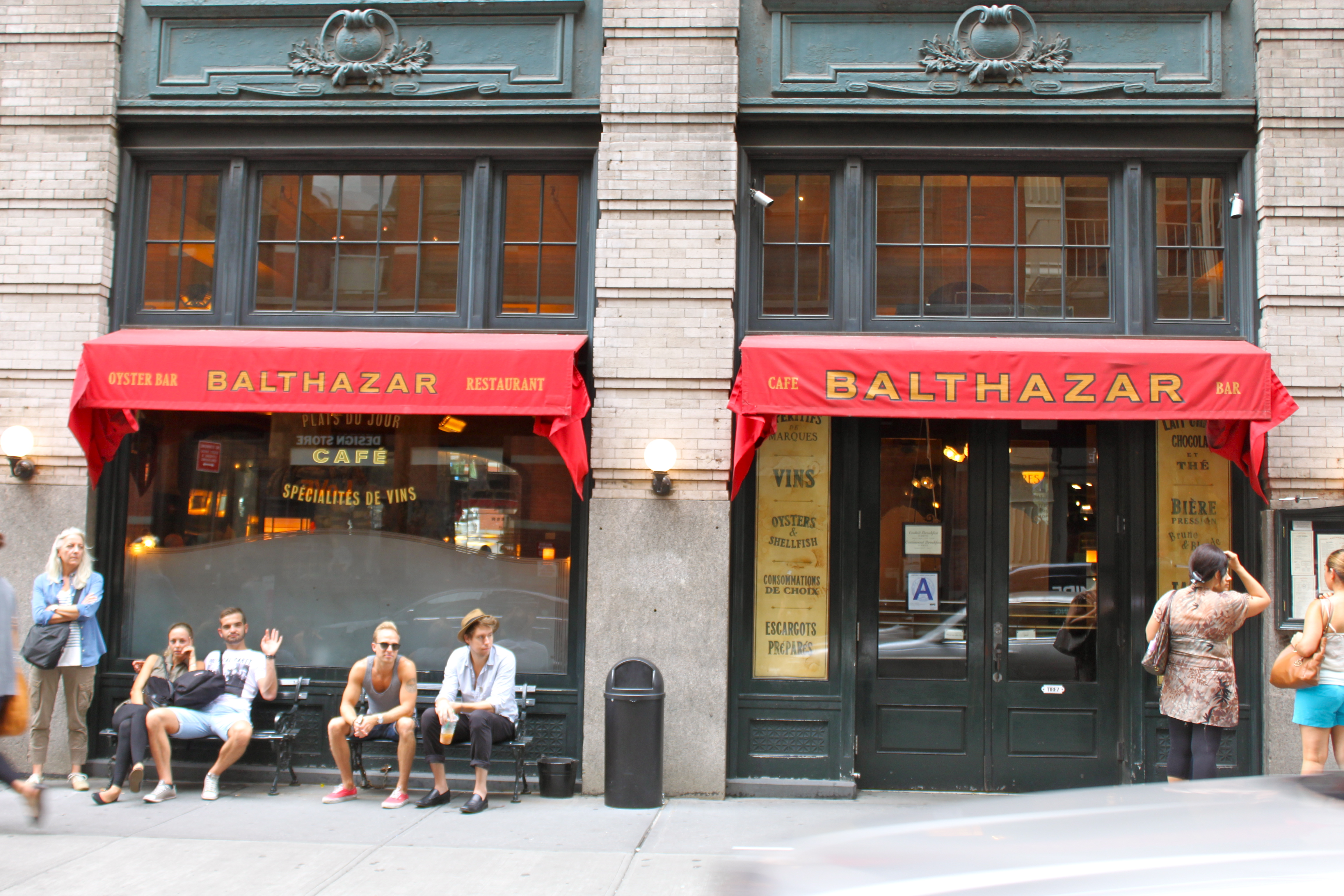 New York Classic Experience - Review of Balthazar, New ...